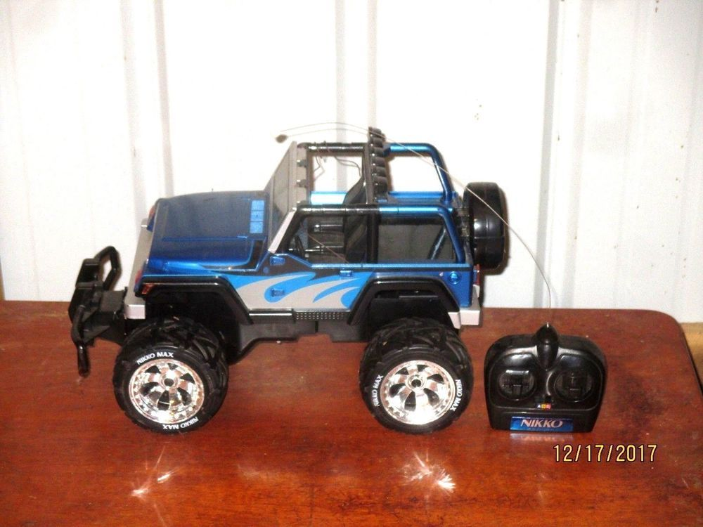 16 Jeep Rubicon Rc Crawler 1 10 Scale Scx10 Nikko Rc Car Hard Body Rc Crawler Jeep Rubicon Hard Body