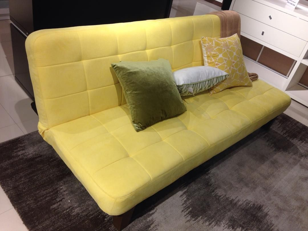 Model Sofa Bed Terbaru Warna Kuning Beserta Harga Sofa Minimalis