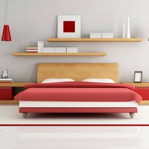Bedroom Wall Shelves Decorating Ideas Design Ideas Bed Wall
