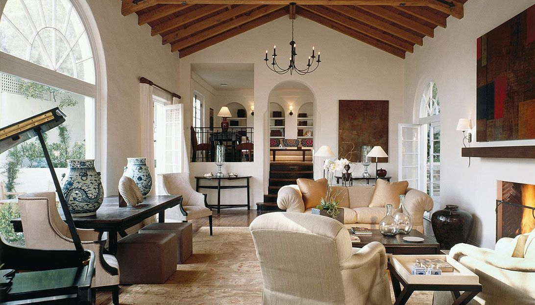 DTM Interiors | Los Angeles · Eclectic Living RoomLiving SpacesFamily ...