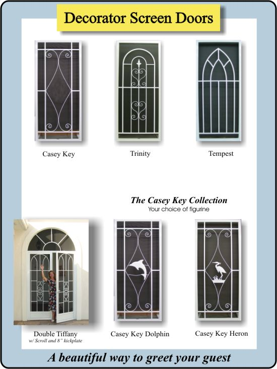 Decorative Screen Doors | Custom Doors | Storm Doors