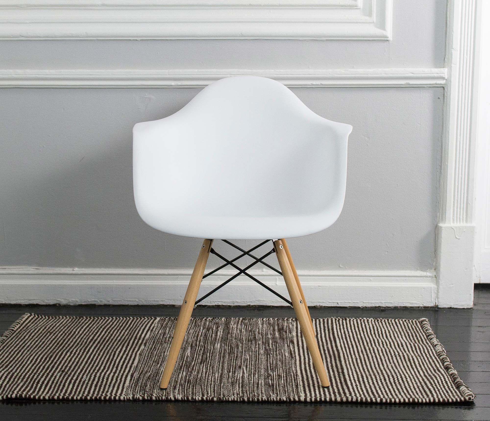 Silla Replica Eames Armchair - Blanco