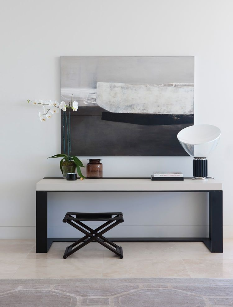 How yum is that Christian Liaigre console table? Discover more: modernconsoletables.net | #consoletable #modernconsoletable #contemporaryconsoletable