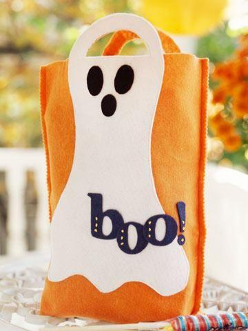DIY Halloween Treat Bag  DIY Tricks for Making a Great Treat Bag - halloween gift bag ideas