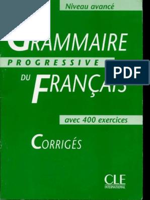 Grammaire Progressive Du Francais Niveau Debutant 2e Edition Pdf Grammaire Progressive Du Francais Grammaire Francaise Pdf Vocabulaire