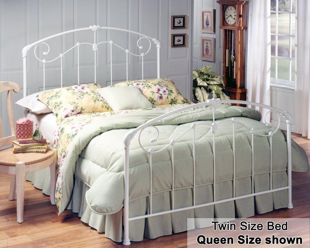 White Rod Iron Bed Frame White Metal Bed White Iron Beds White
