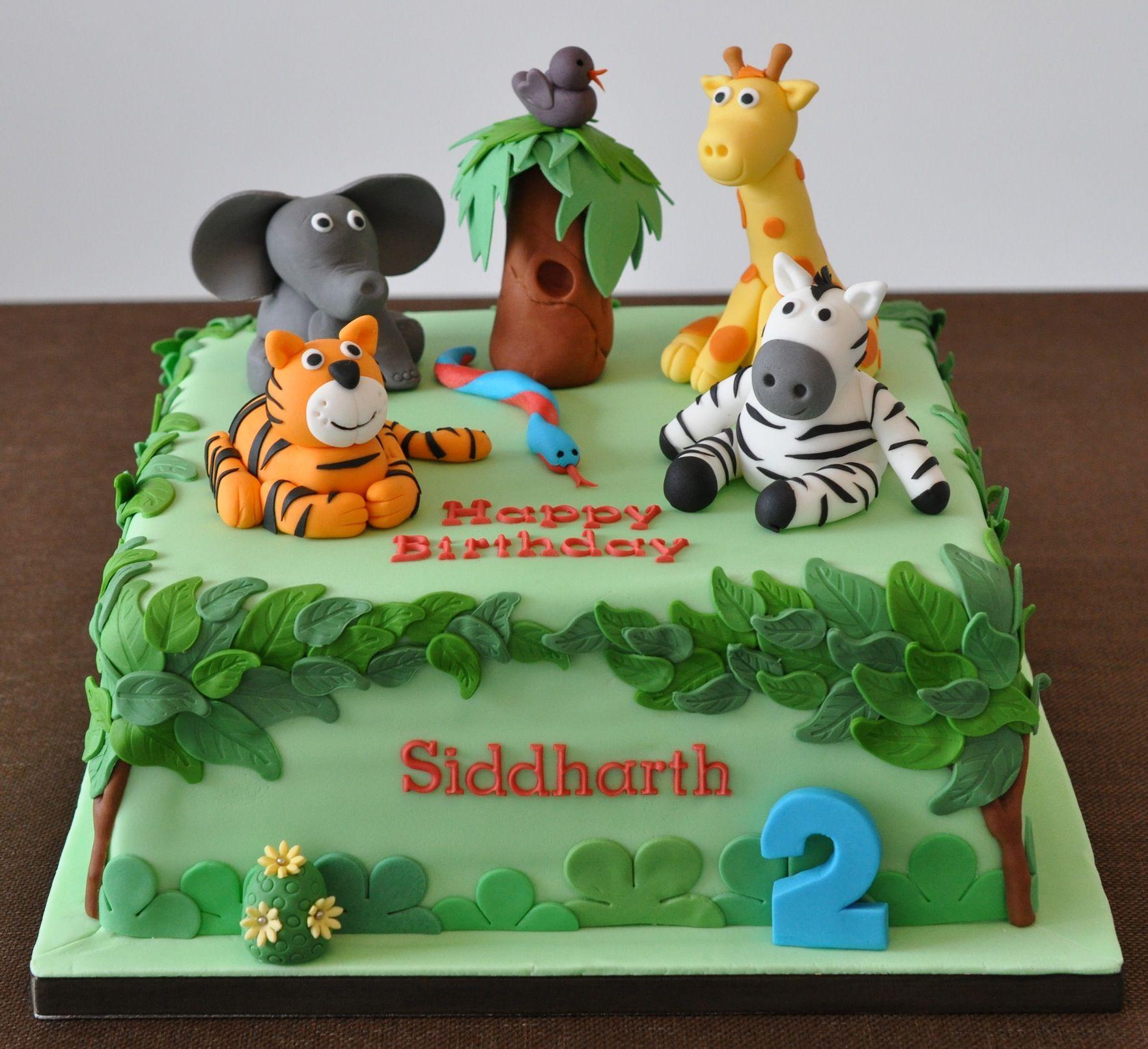 Magnificent Safari Sheet Cake With Images Safari Birthday Cakes Jungle Personalised Birthday Cards Bromeletsinfo