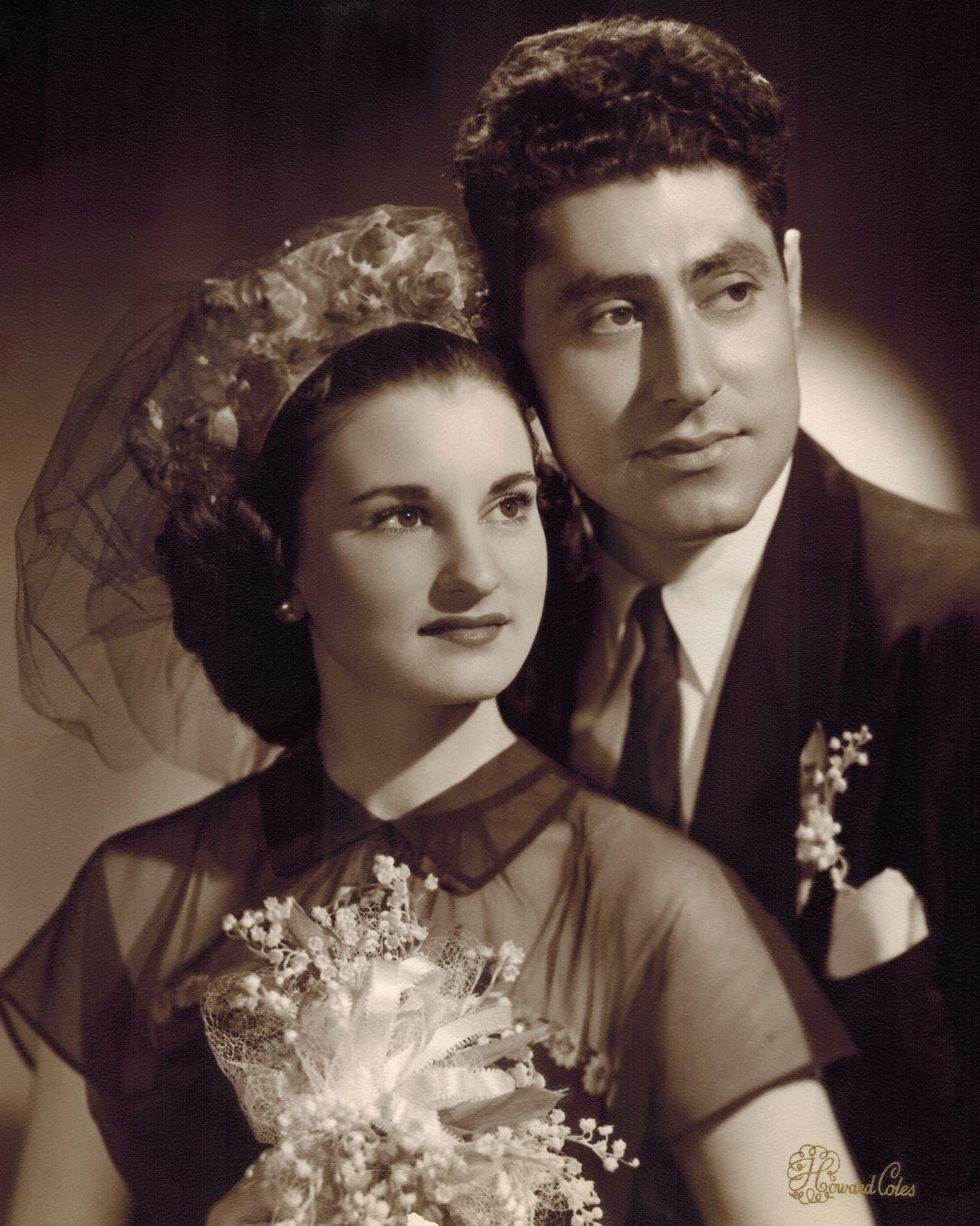 Vintage Wedding Dresses Chicago: 1940′s Newlyweds, Chicago
