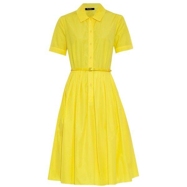 554915f9bac MAX MARA STUDIO Calmi dress ( 250) ❤ liked on Polyvore featuring dresses