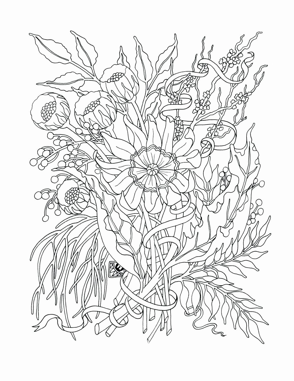 Flower Power Coloring Pages With Images