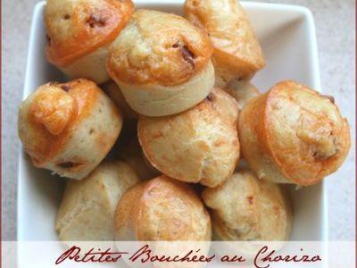 Petites bouchées au chorizo pour apéritif sympa #recettesympa
