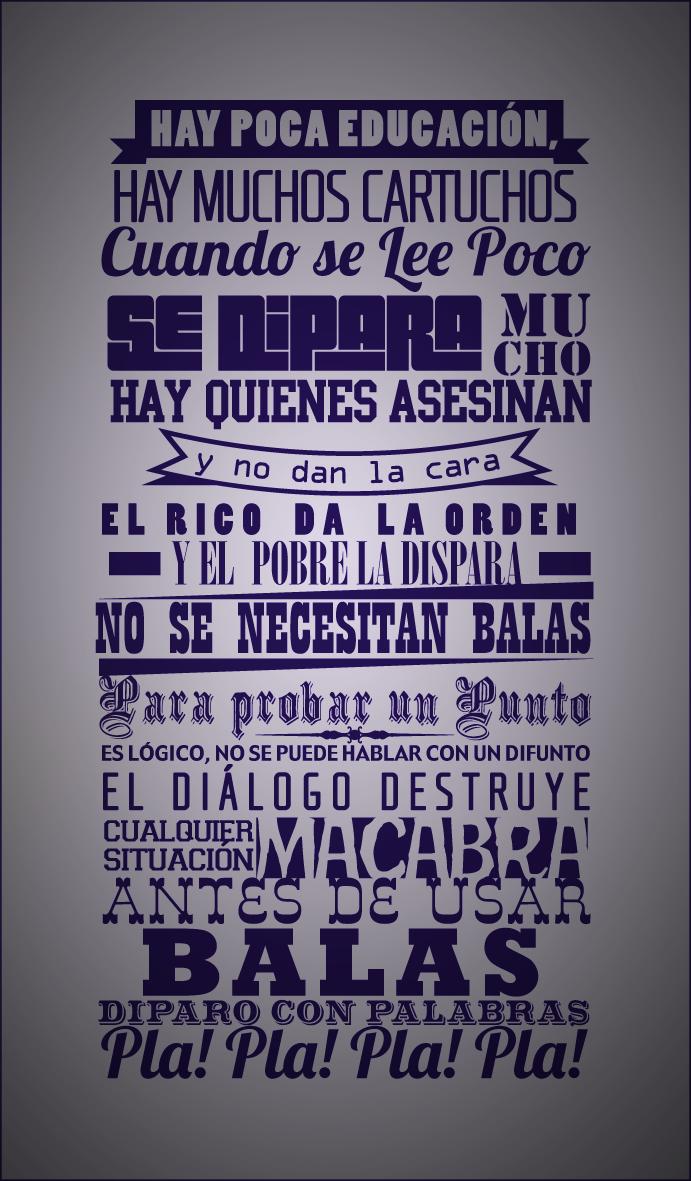 Me Laten Sus Letras De Calle 13 La Bala Frases De La
