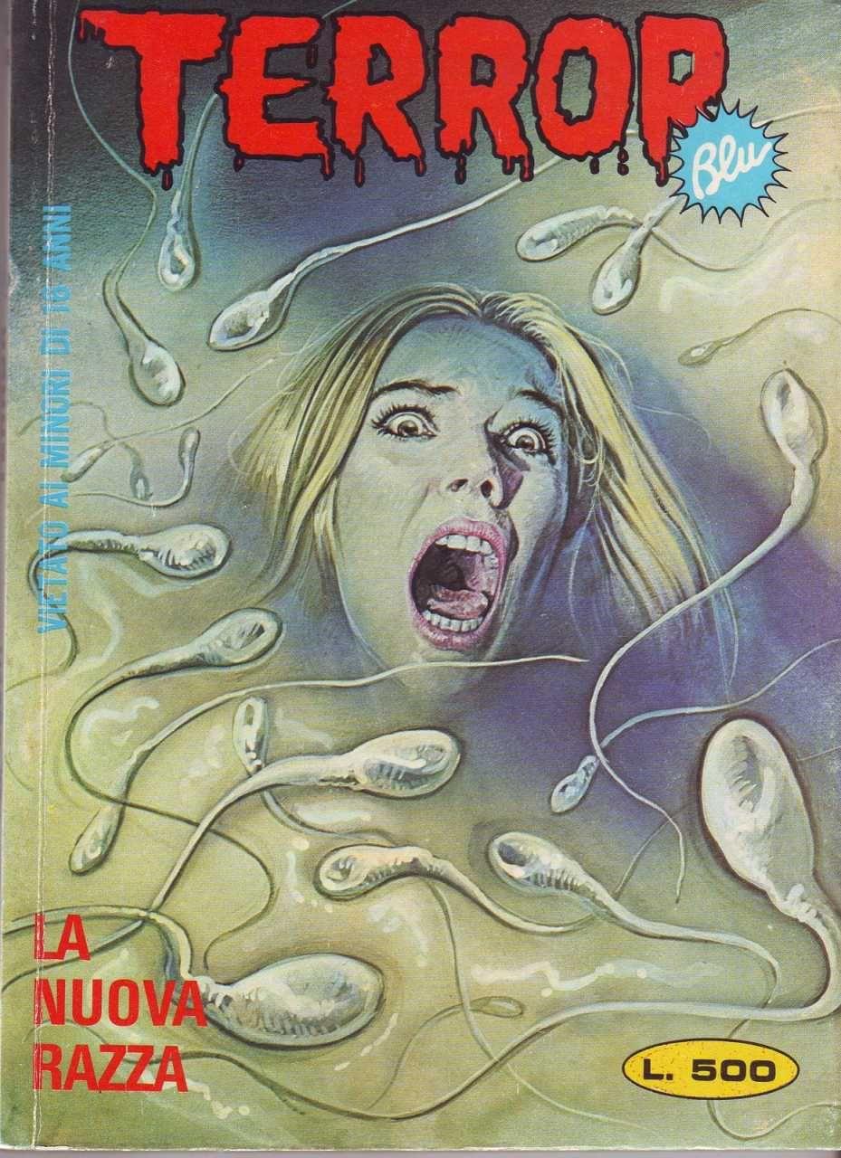 Terror Blu #105 - LA NUOVA RAZZA