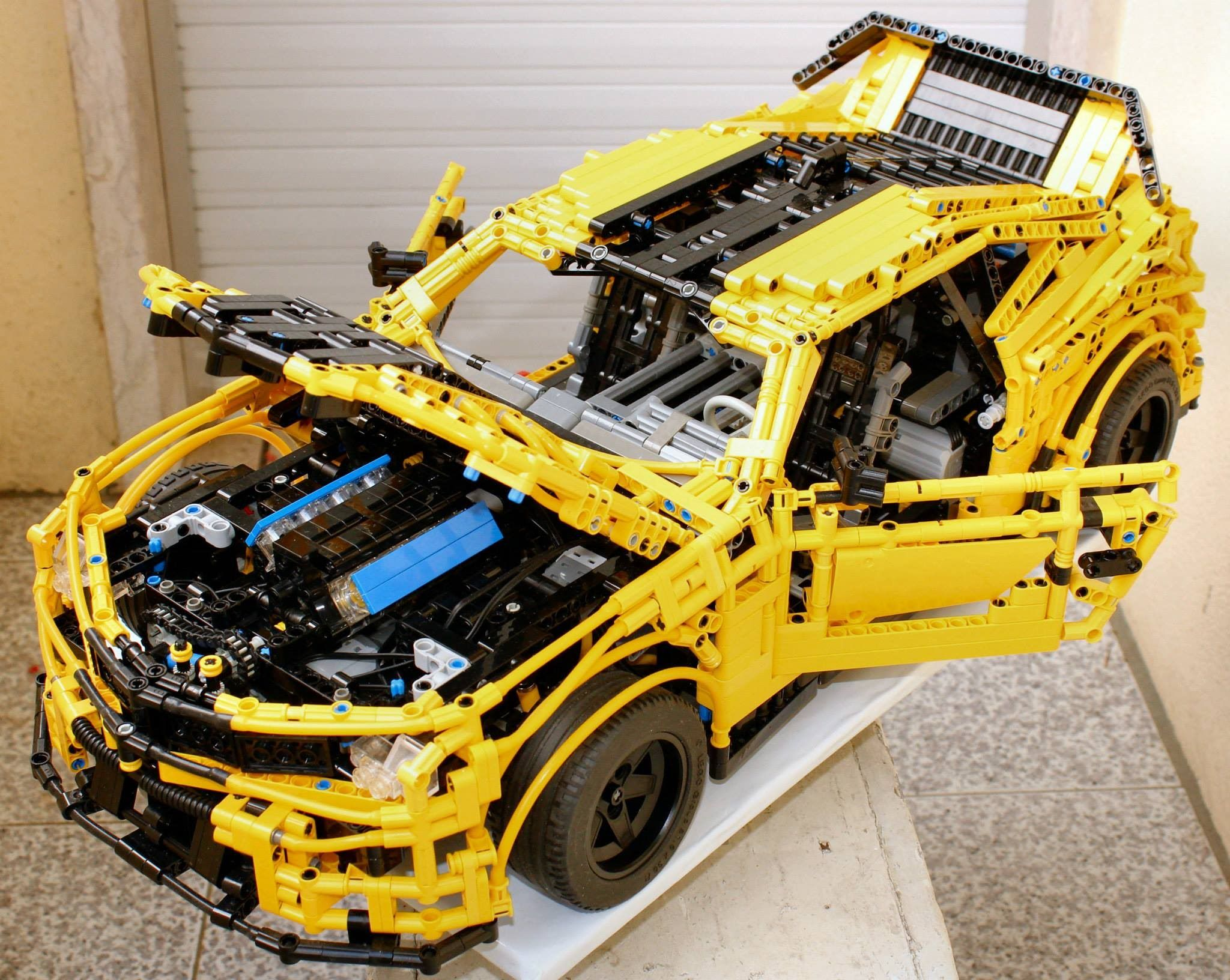 moc lego technic chevrolet camaro 2015 lego technic. Black Bedroom Furniture Sets. Home Design Ideas