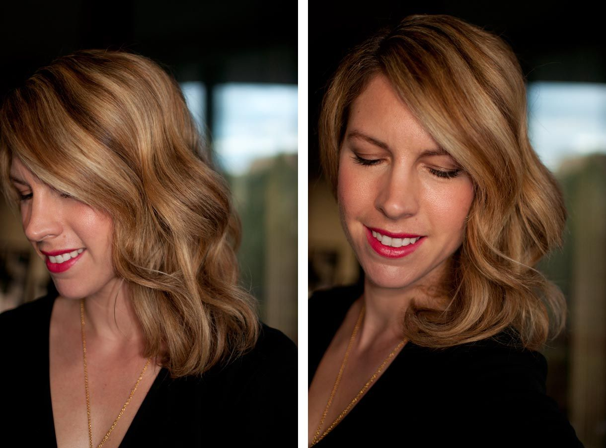 How to get perfect waves with the Modiva Professional curling iron | Hair romance, How to curl ...
