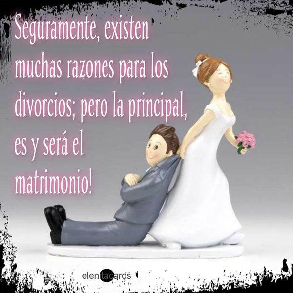 Frase Sarcasmo Divorcios Matrimonio Razones Divorcio