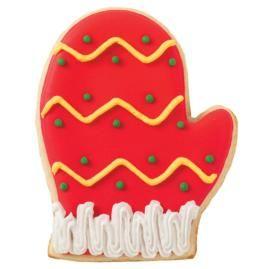 wilton example of decorated mitten cookies