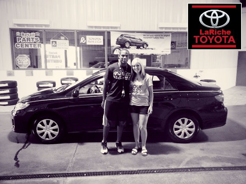 Congrats on your 2010 Toyota Corolla and to the