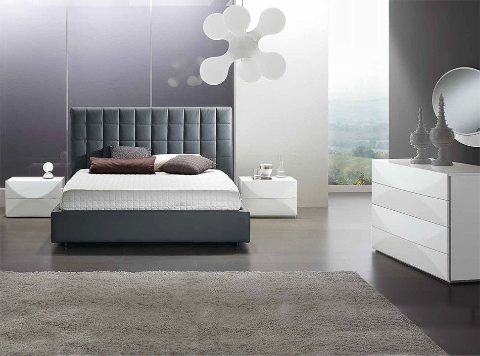 Modern Upholstered Bed Bingo by SPAR, Italy - Bedroom Sets | Italian ...