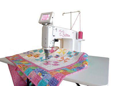 Hq Sweet Sixteen Handi Quilter Long Arm Quilting Machine Machine Quilting Handi Quilter