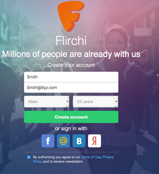 Flirchi Sign Up / Join Flirchi Free Online Dating – Flirchi.com Login