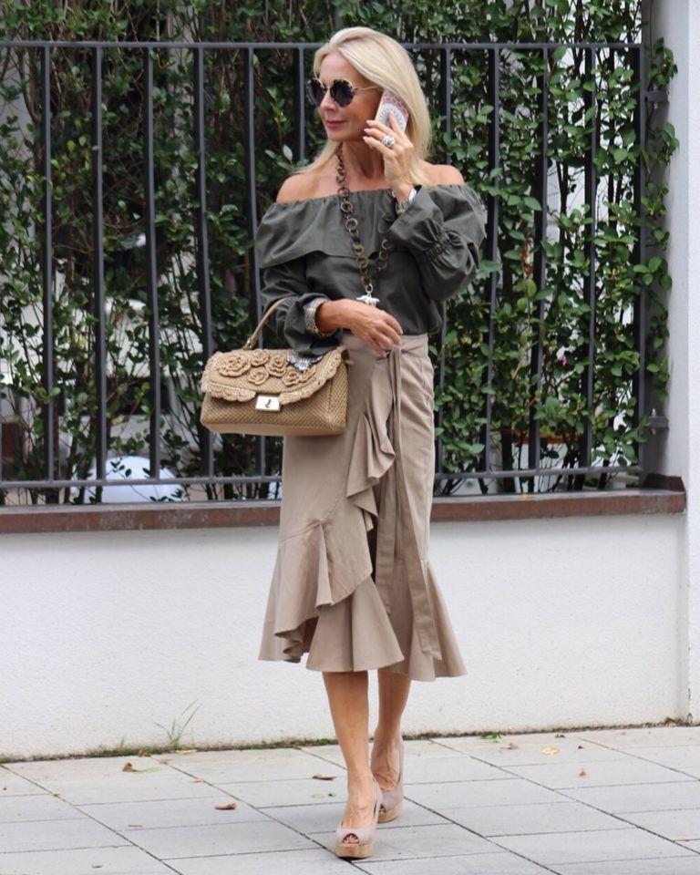 Mode ist Veränderung und Bibi Horst liebt die ...