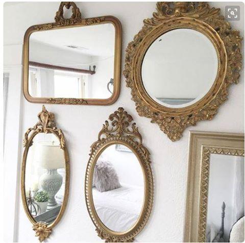 Astoria Grand Antique Gold Wall Mirror Wall Mirrors Entryway Antique Mirror Wall Gold Mirror Wall