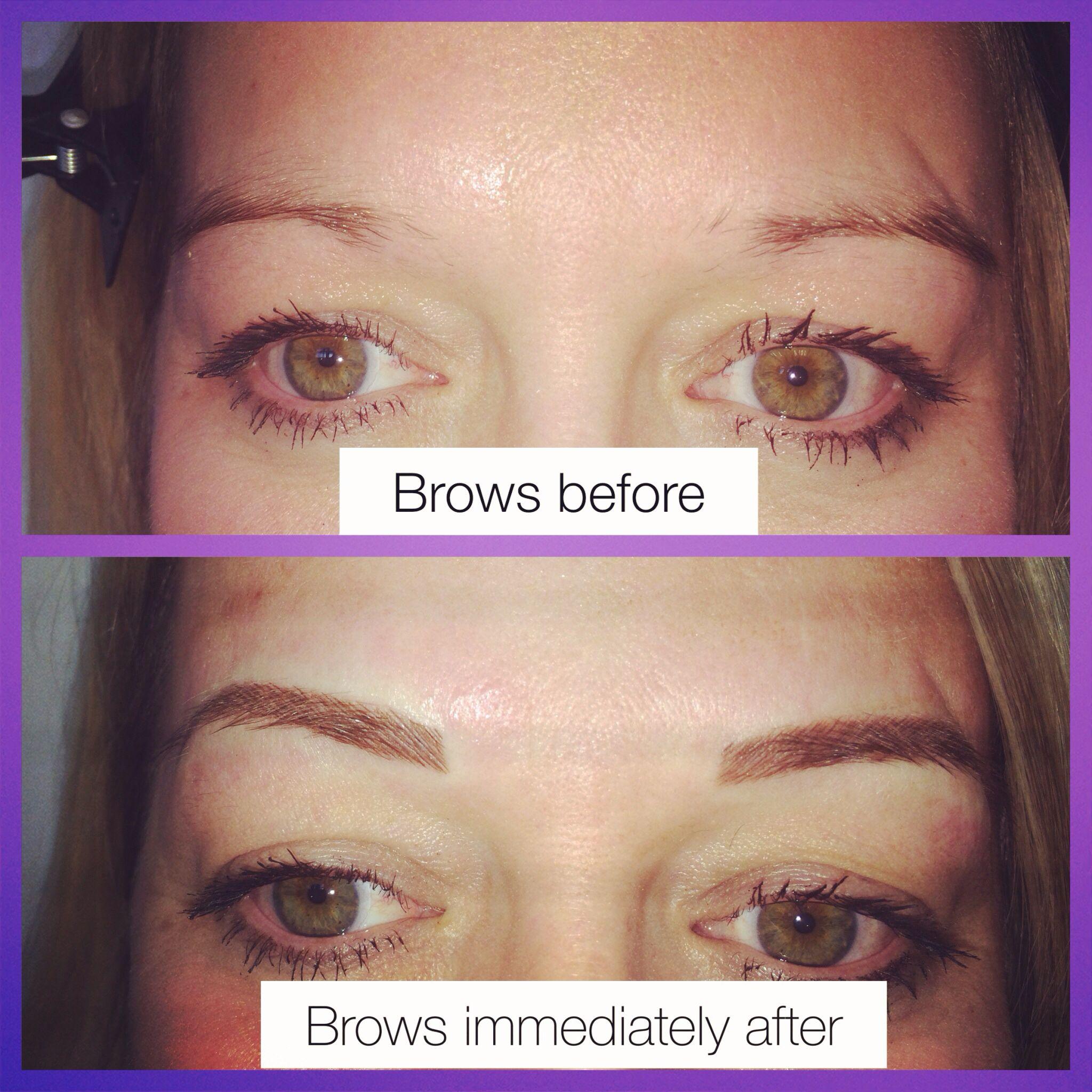 Hair stroke brows   Brows, Makeup