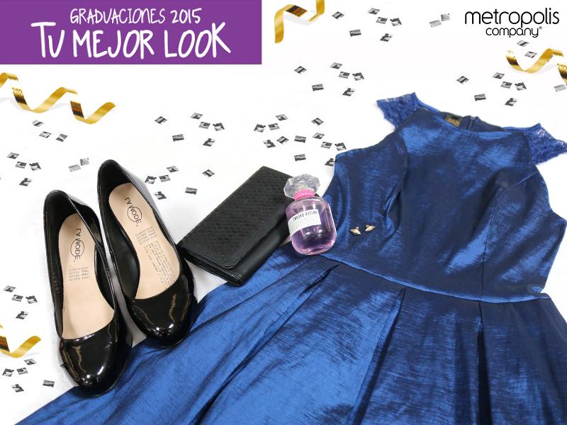 Conviértete en el alma de la graduación con este vestido de #Metropolis. ¡Serás el centro de todas las miradas!