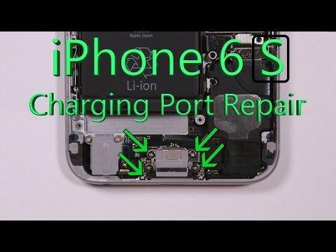 b07ce6822a8 Easy iPhone 6s Charging Port Fix - Free PDF Screw organizer! -  JerryRigEverything