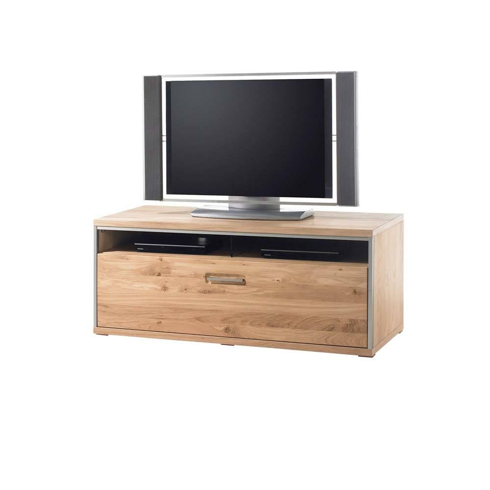 tv board mit asteiche hell ge lt 50 cm hoch jetzt. Black Bedroom Furniture Sets. Home Design Ideas