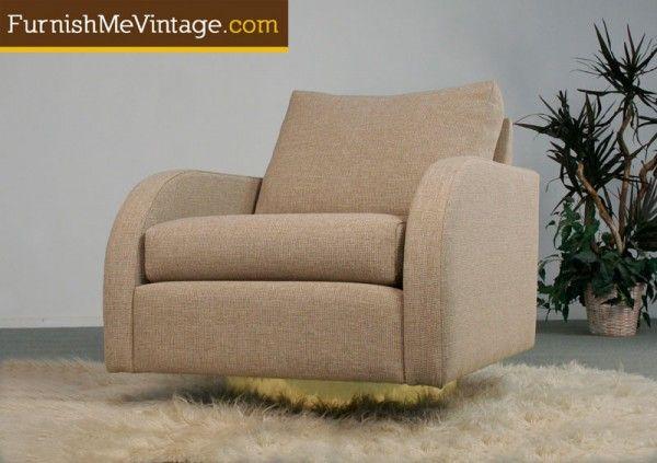 Mid Century Modern Milo Baughman Chair