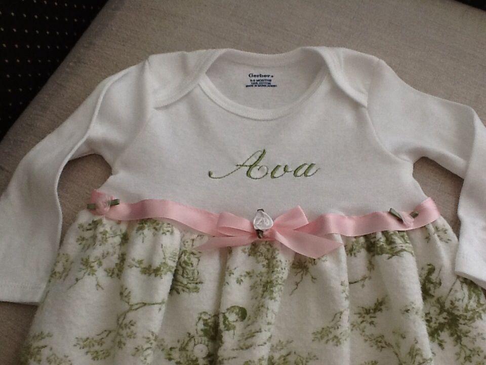 3dcbe4ca5a47c Diy onesie sleeper gown | diy baby stuff | Baby gown, Handmade baby ...