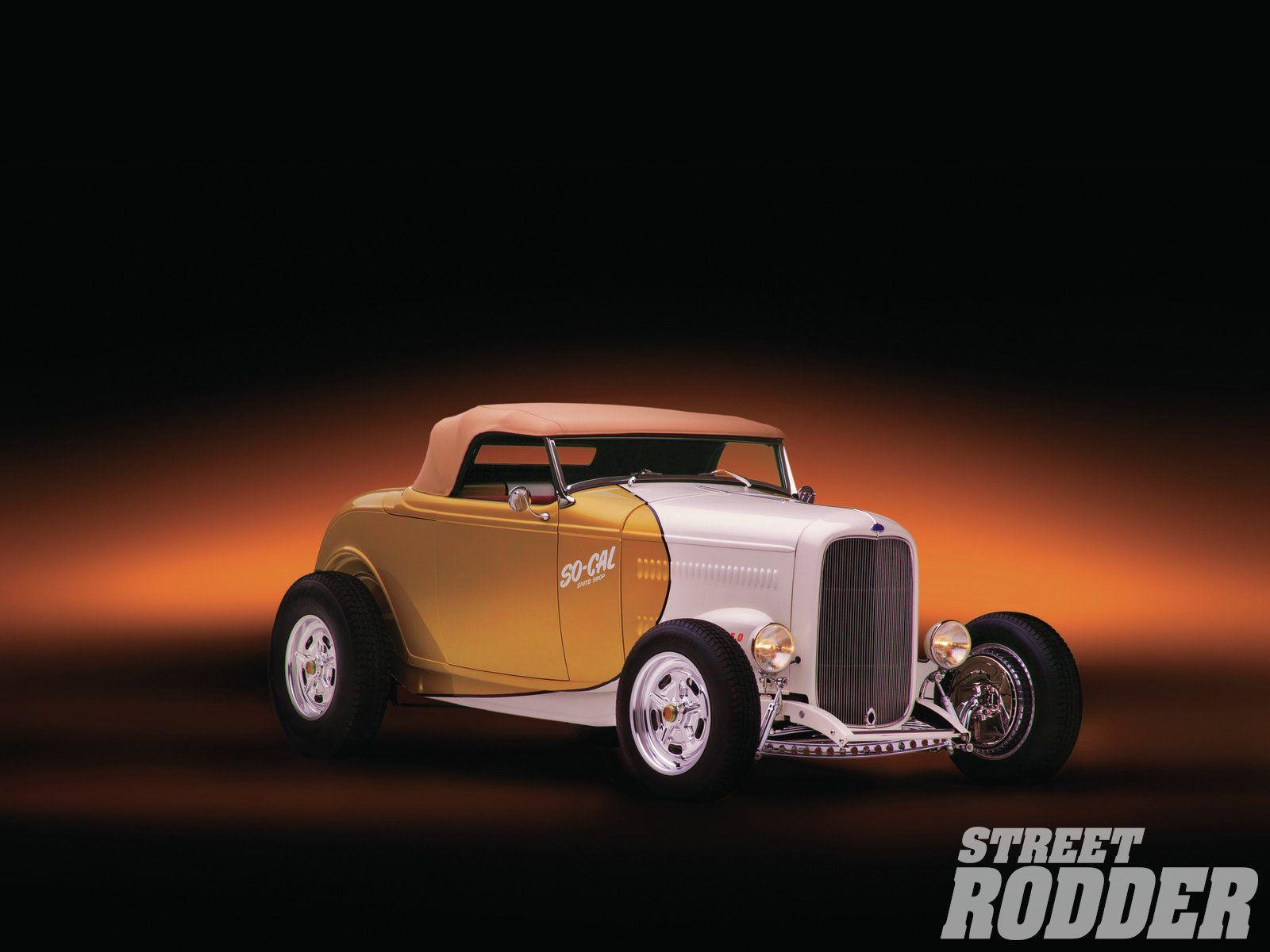 1932 Ford Highboy Roadster Retro Hot Rod Retro Hot Rod Street Rodder Roadsters