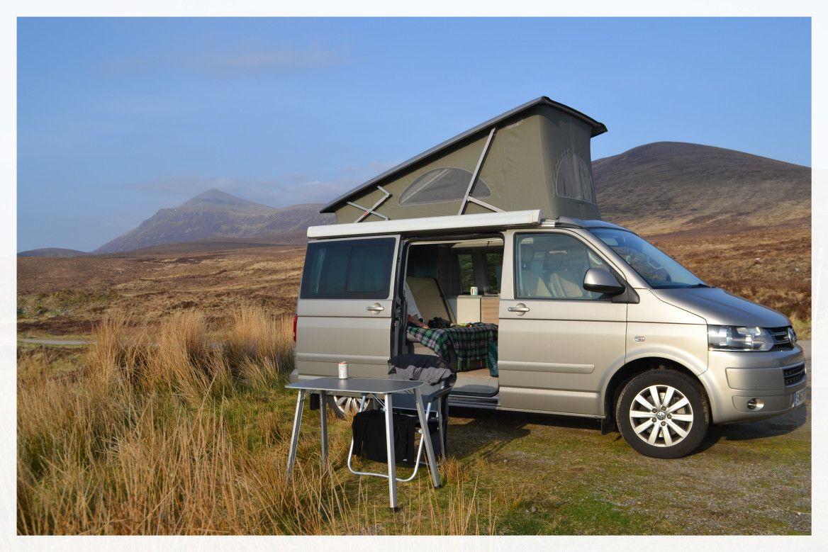 Wild camping in Scotland - Camper vans and motorhomes ...