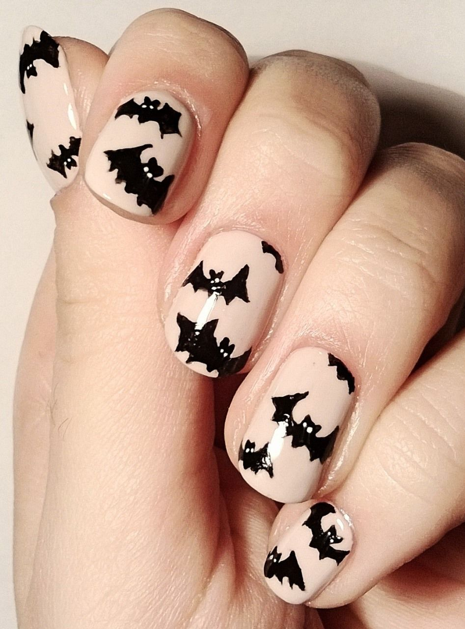 Buy Nail Frightened art ideas for halloween pictures trends