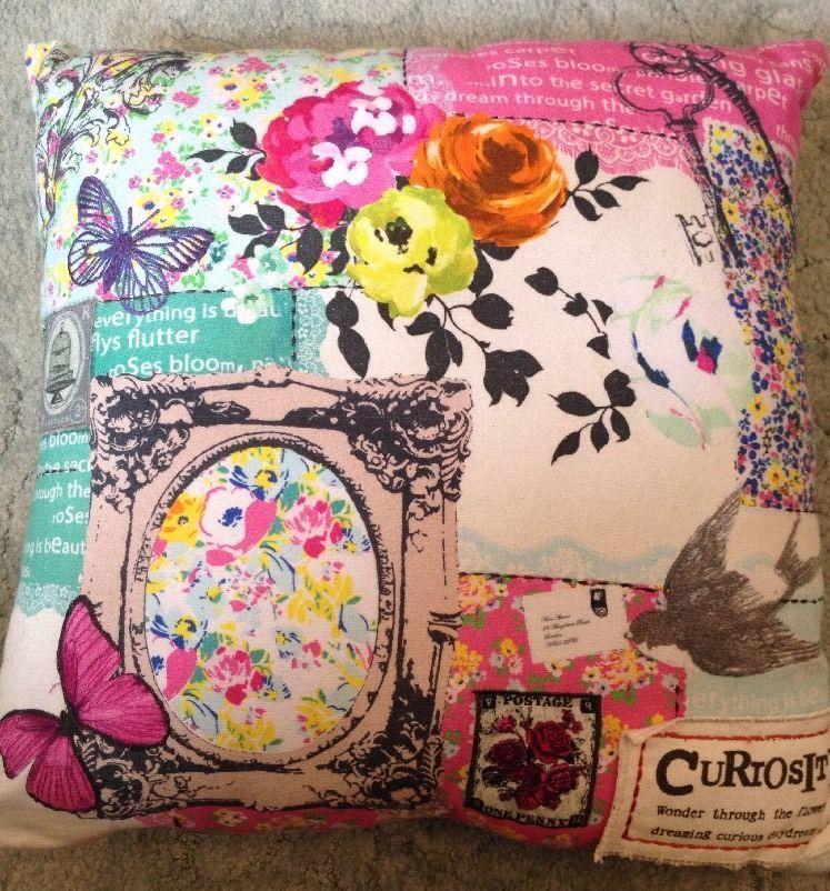 Bhs Vintage Curiosity Cushion. RRP £20