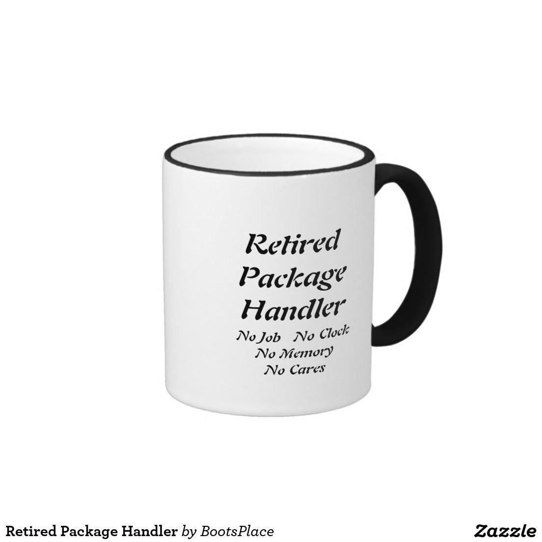 Retired Package Handler Ringer Mug