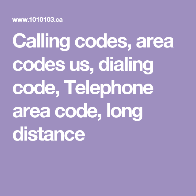 Calling codes area codes us dialing code Telephone area code