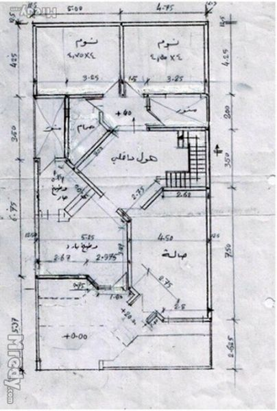 خرائط منازل 10 20 بحث Google House Map House Plans How To Plan