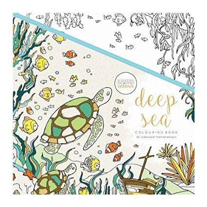 Kaisercolour Perfect Bound Coloring Book Deep Sea