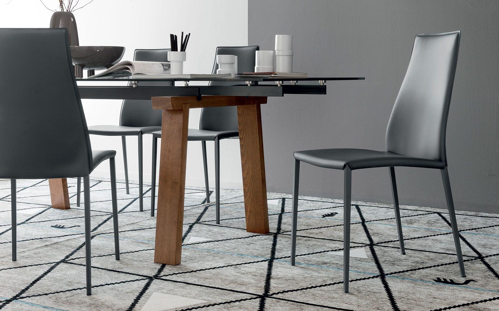 Friulsedie Prezzi ~ Sedia calligaris aida cuoio grigio sedie moderne pinterest