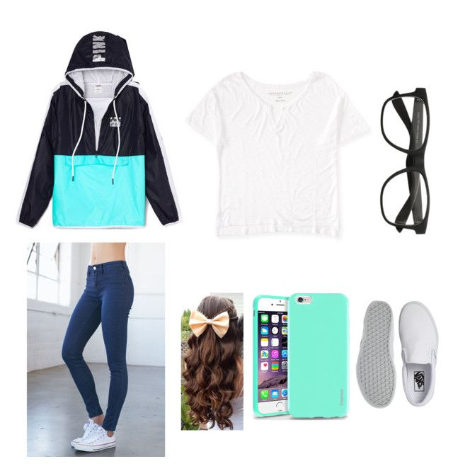 """""""Haven't made a set in a while"""" by vanessa-marie-ortiz ❤ liked on Polyvore featuring Bullhead Denim Co., Aéropostale, Insten and Vans"""