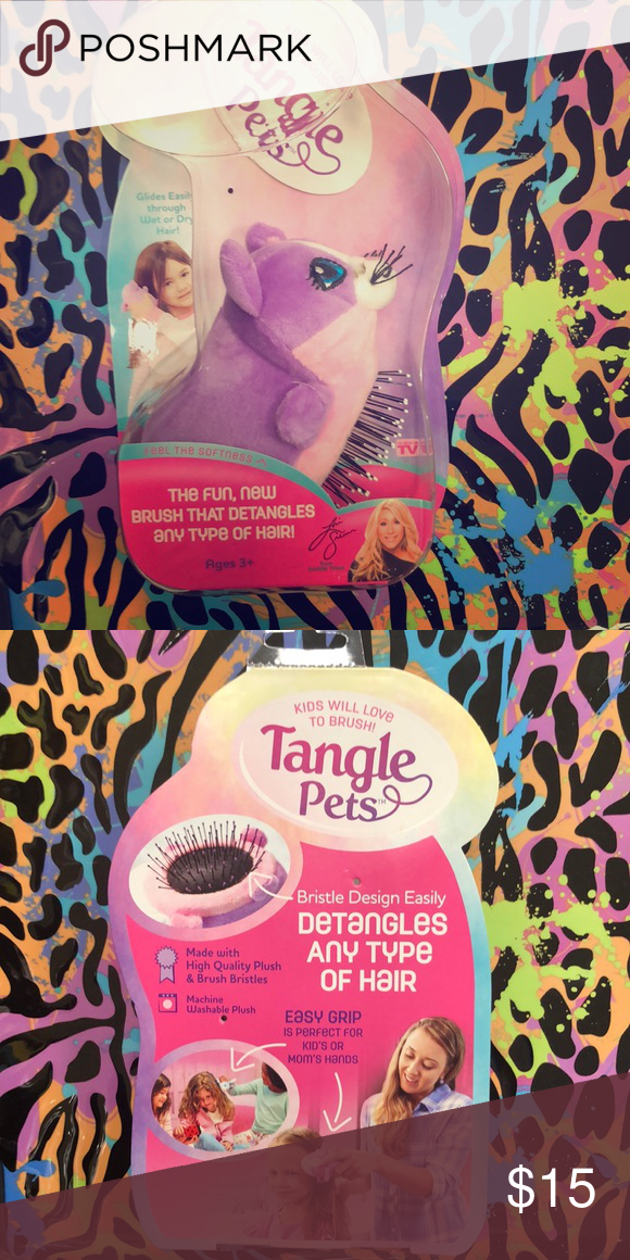 Tangle Pets A Detangle Brush Nwt Detangling Brush Detangler