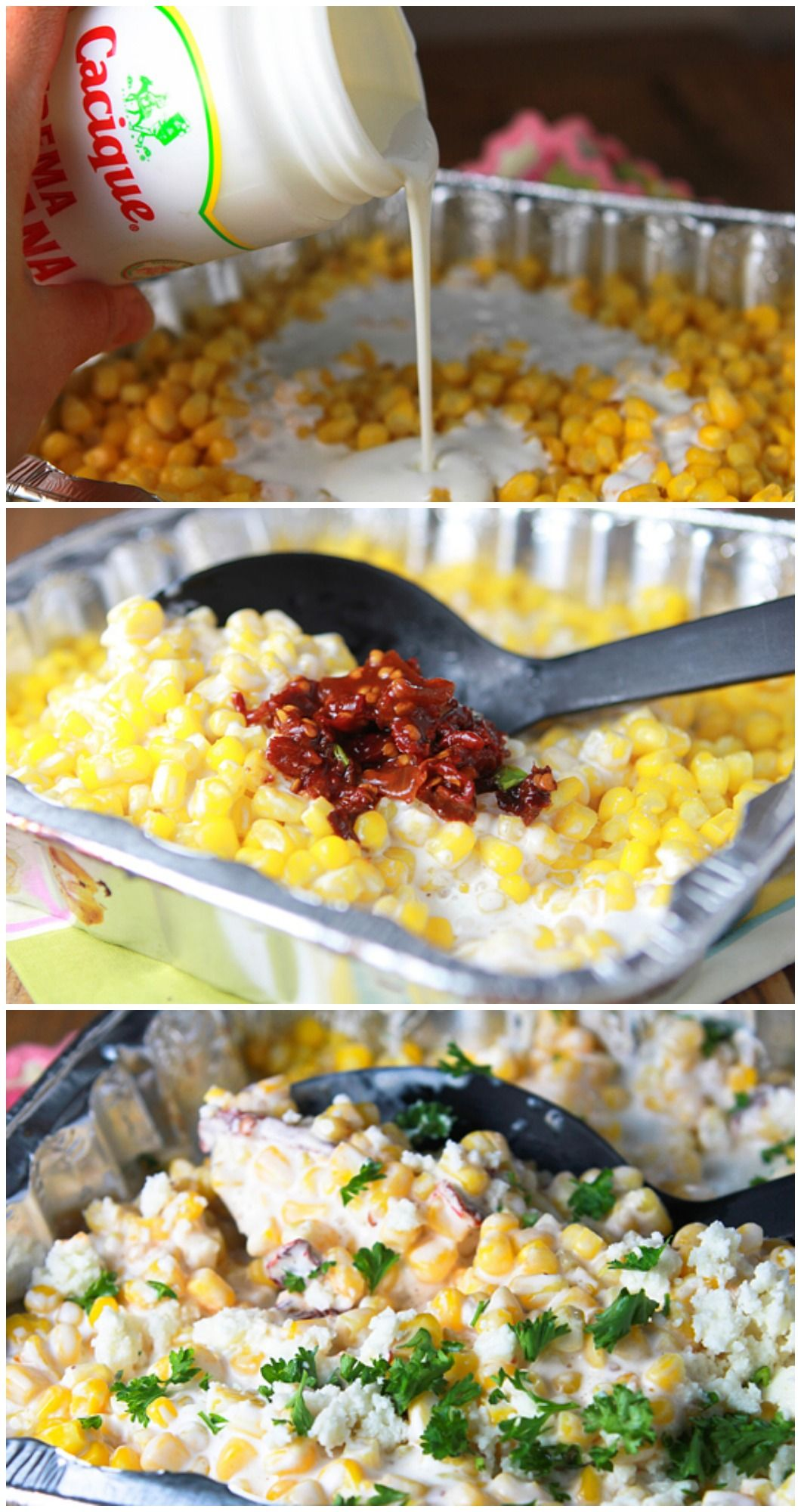 Grilled Chipotle Creamed Corn