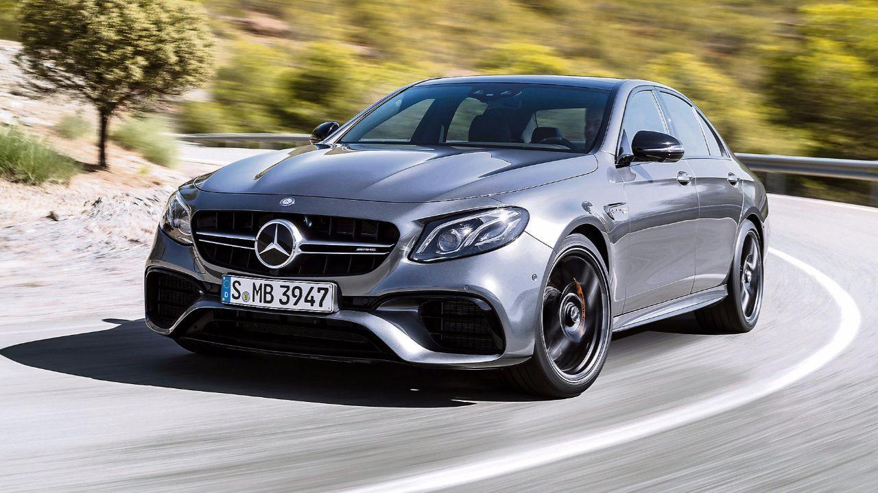 testet den neuen Mercedes AMG E 63 S - Der Hammer ist zurück ...