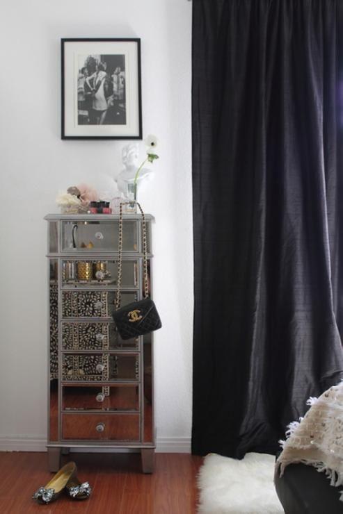 Pier 1 black dresser furniture