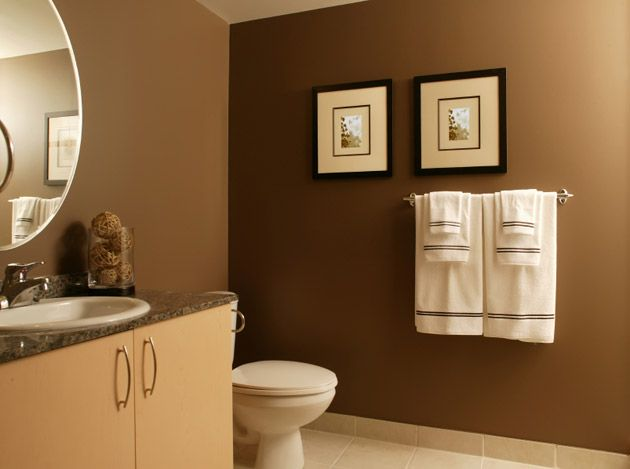 Hall Bath Brow N Thinking About This Color Done In A Beach - Aqua and brown bathroom accessories for bathroom decor ideas