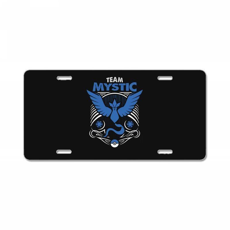 team mystic License Plate