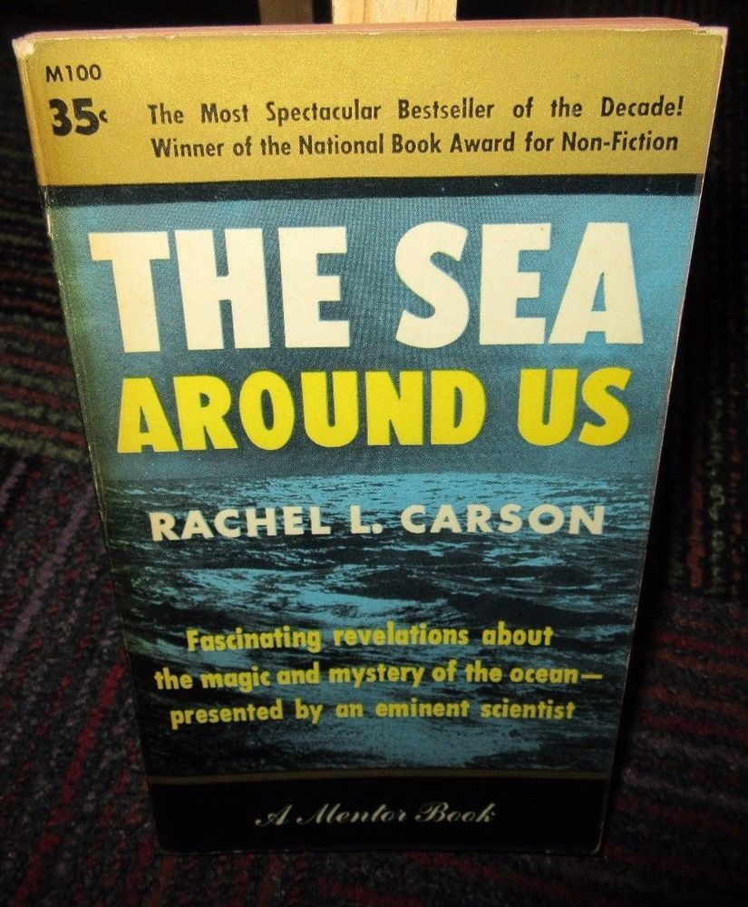 Image result for rachel carson the sea around us